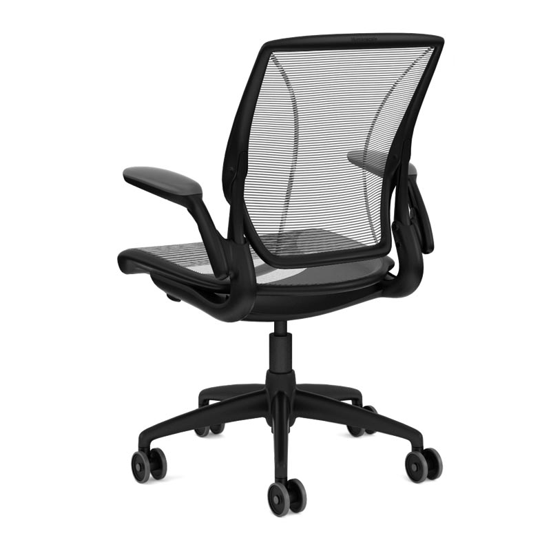 Diffrient World Chair, Base Black Mesh Black