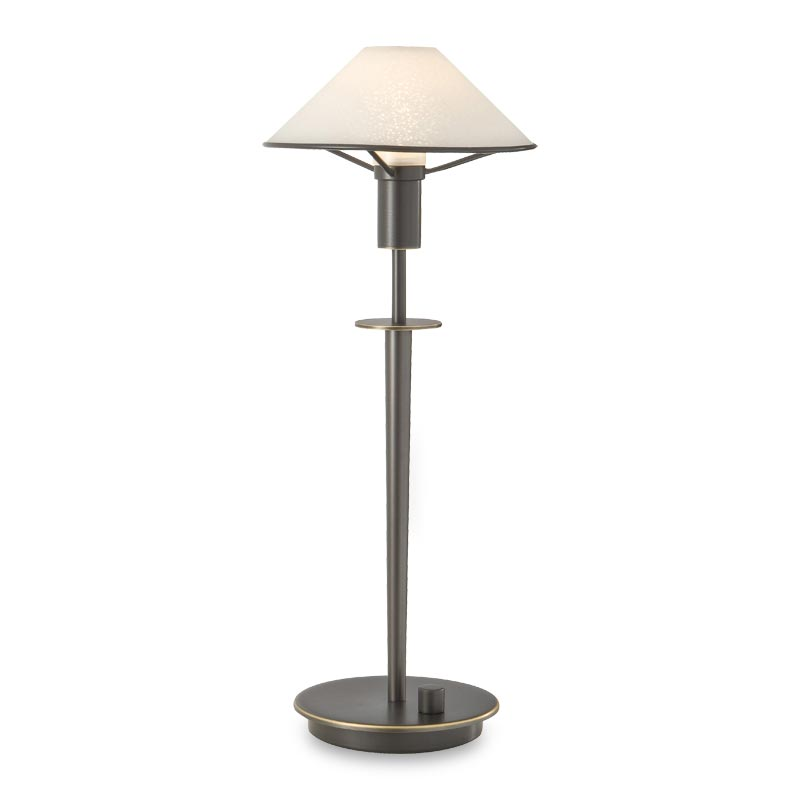 Little Star Table Lamp, Hand-Finished Bronze, Satin White