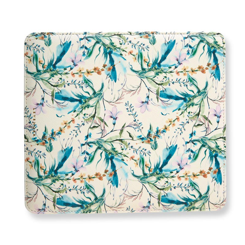 Winter Garden Floral Reversible Mouse Pad