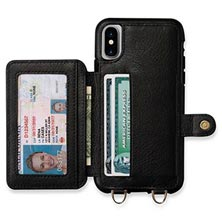 iPhone X Crossbody Snap-On Case