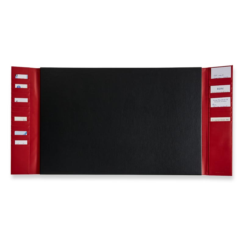 Dyana Pocket Desk Pad, Red