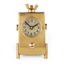Wingnut Table Clock