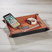 Snap and Charge Travel Tray