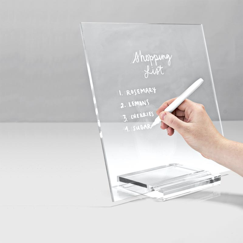 Acrylic Memo Tablet