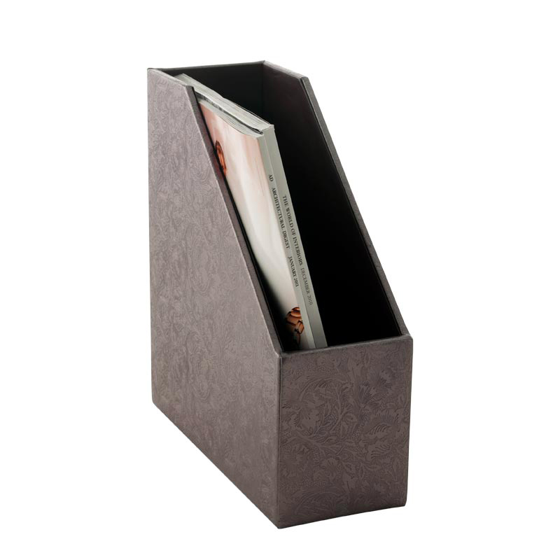 Brocade Magazine Holder