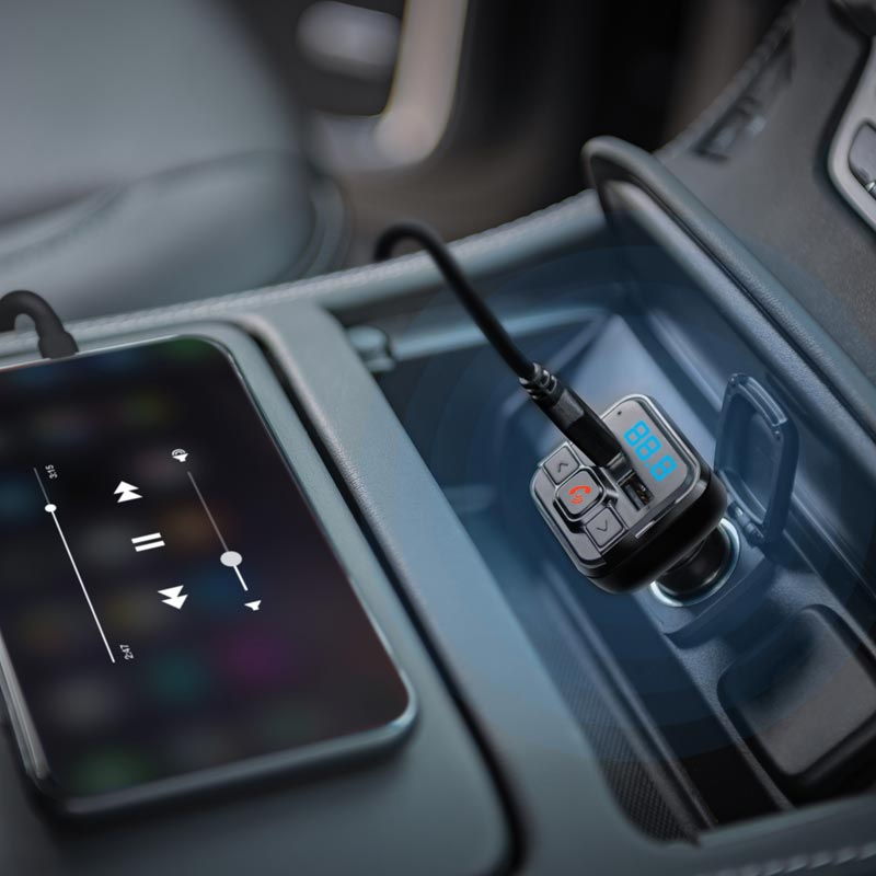 Bluetooth FM Transmitter and Car Charger