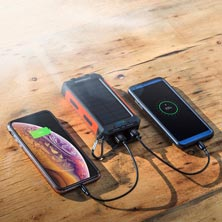 Multi-Use Solar Power Bank