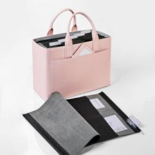 Prestige Portable Office Ensemble - Pink Whisper