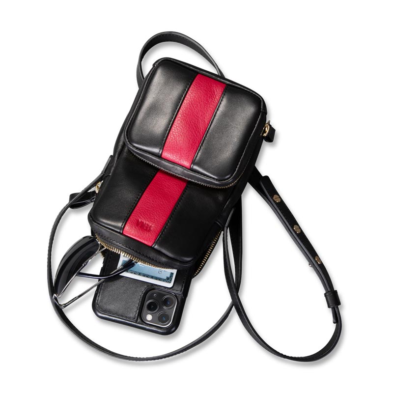 Leather Phone Crossbody