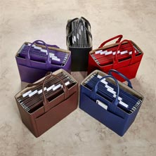 Portable File and Tote Office Ensemble