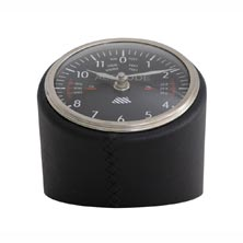 Leather Altitude Clock