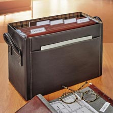 Bomber Jacket Desk File Holder