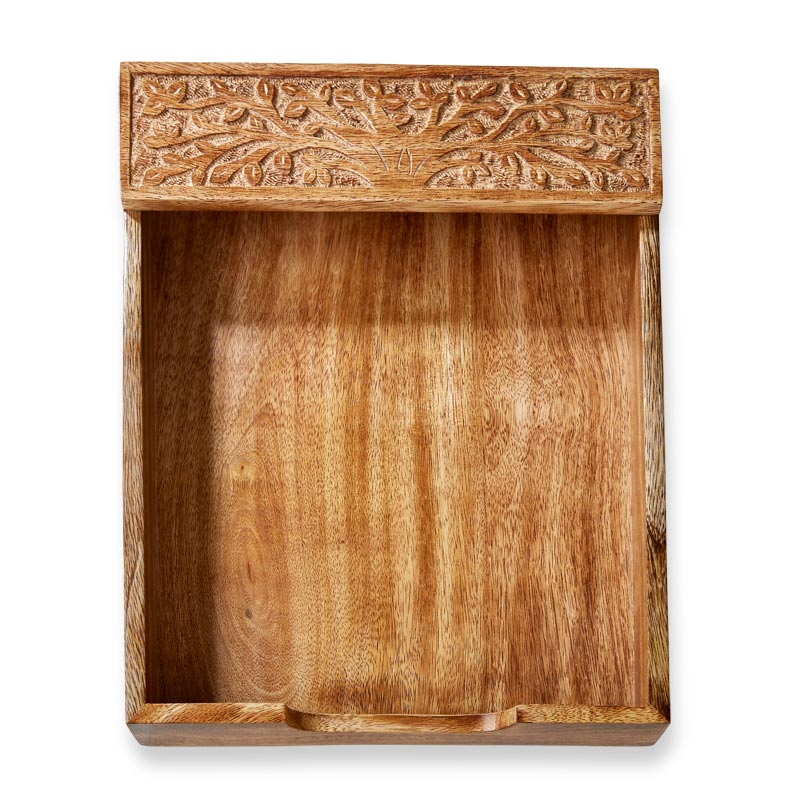 Tree of Knowledge Letter Tray