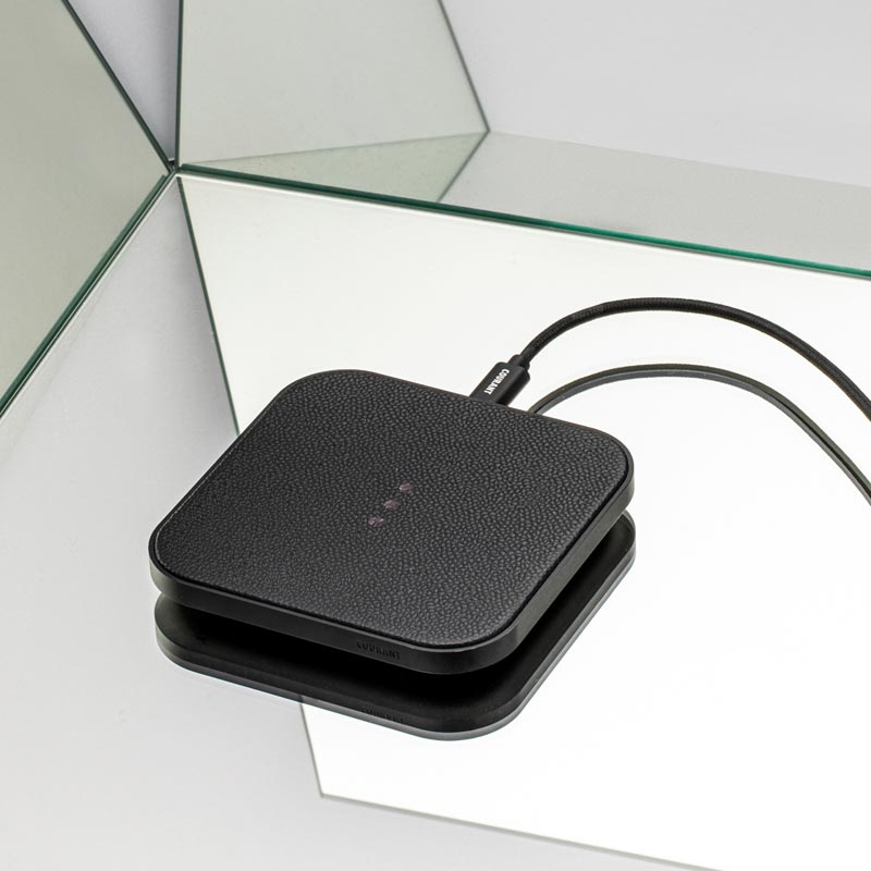 Catch 1: Leather Charging Pad
