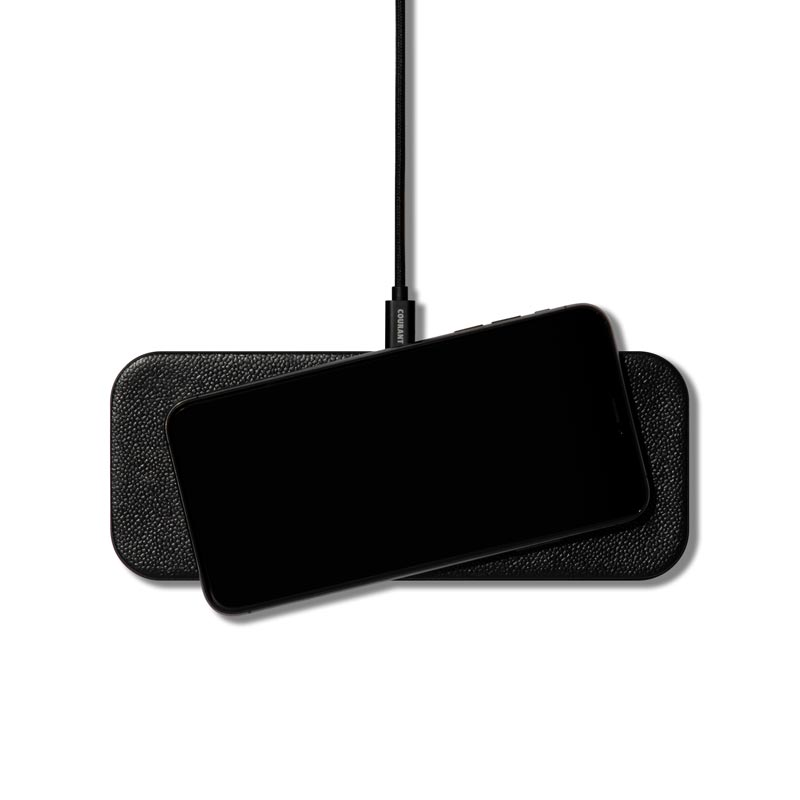 Catch 2: Leather Duo Charging Pad