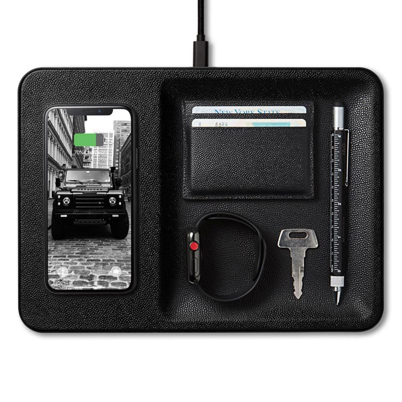 Catch 3: Leather Charging Valet
