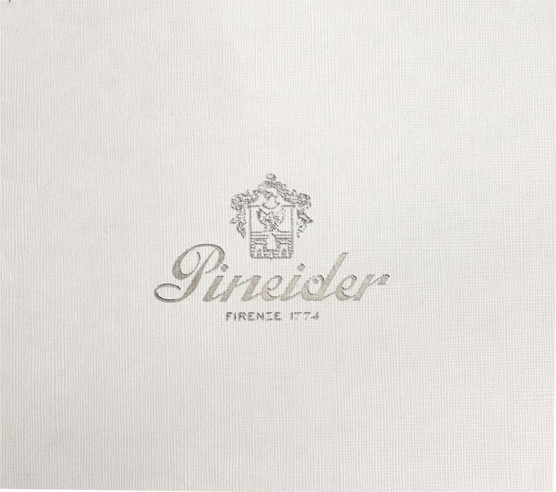 Pineider Empress Boxed Card Set White/Blue