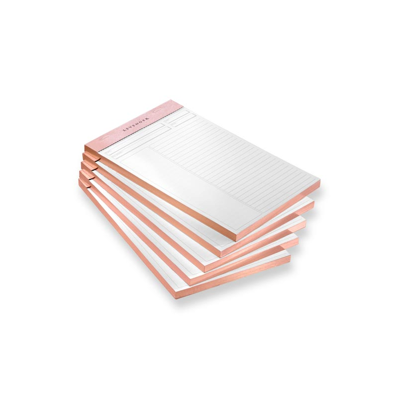 Luxe Freeleaf Annotation RL Pads Rose Gold JNR (5)