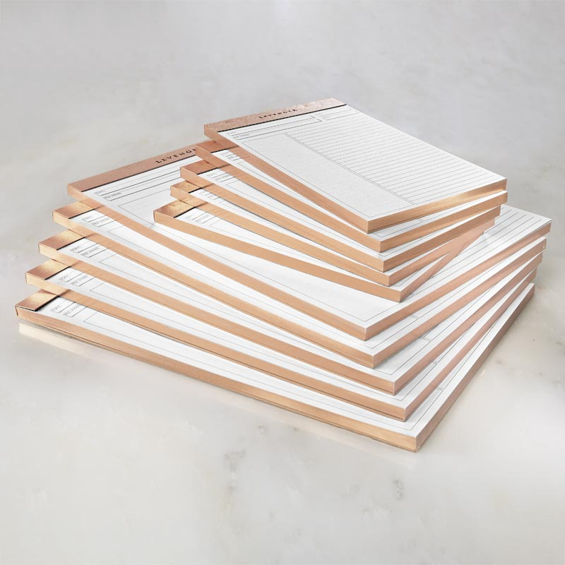 Luxe Freeleaf Annotation RL Pads Rose Gold (5)