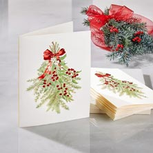 Holiday Greens Card