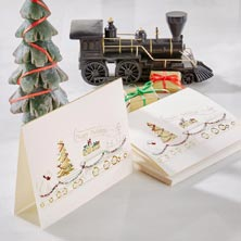 Christmas Train Card