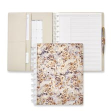 Circa® Floral Tapestry Foldover Notebook