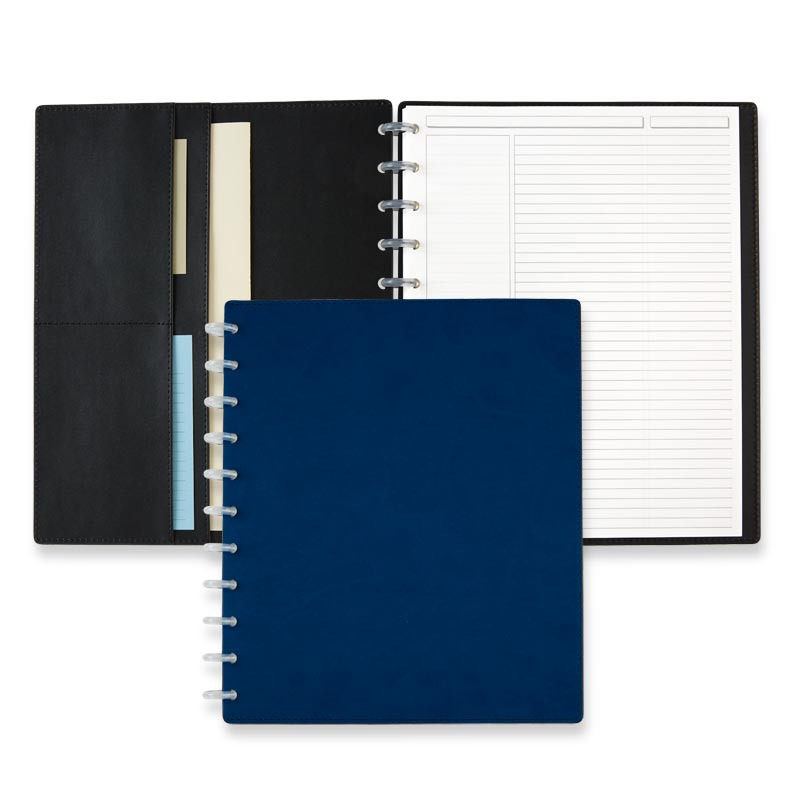 Circa Sea and Sky Sliver Notebook, Letter - Midnight Blue