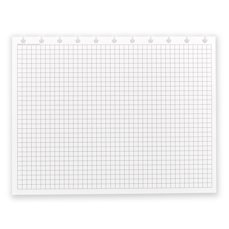 Circa® Landscape Full-Page Grid Refill (100 Sheets) - Letter