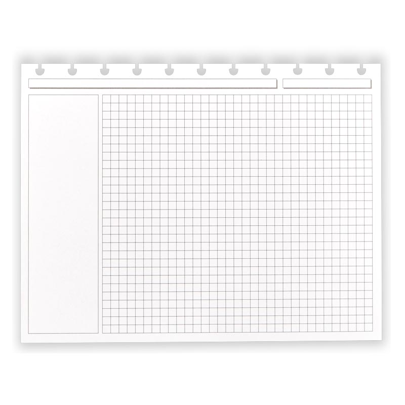 Circa® Landscape Annotation Ruled Refill (100 Sheets) - Letter