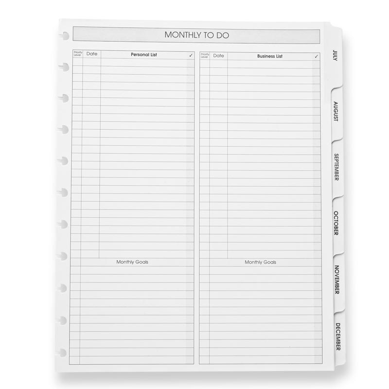Circa® 2022 Monthly Tabs and Pullout Calendar, Letter