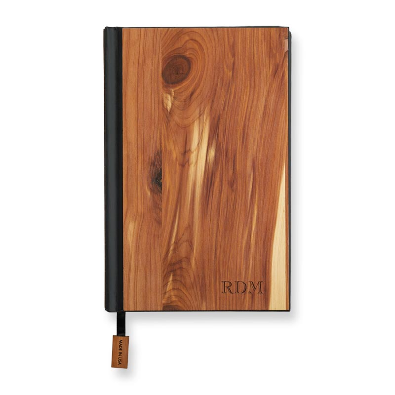 Real Wood Classic Journal - Cedar