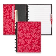 Circa Cherry Blossom Foldover Notebook, Cherry