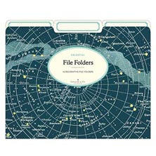 Celestial File Folders (set of 12)
