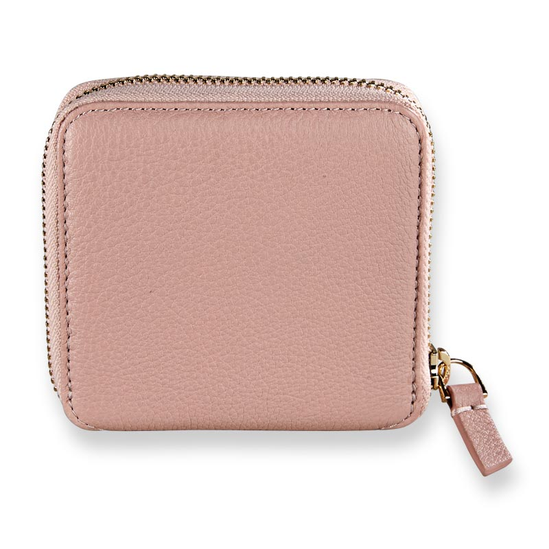 Carrie Coin and Card Wallet - Blush