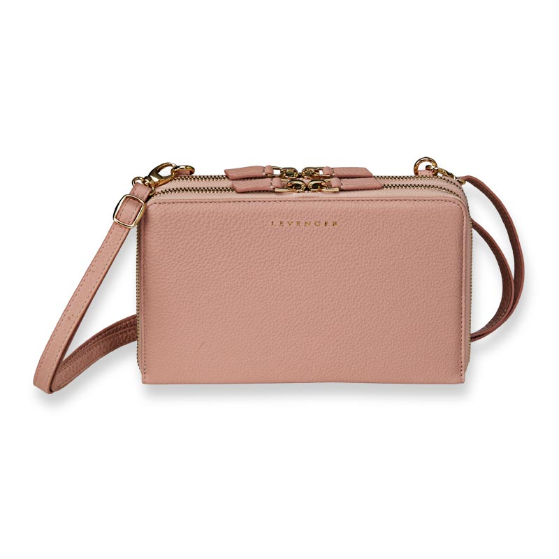 Carrie Convertible Clutch - Blush