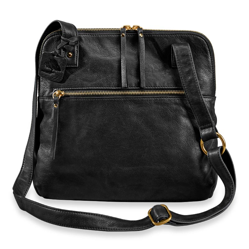 Alexa Crossbody Traveler - Black