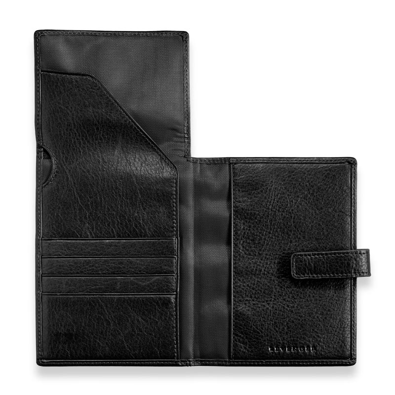 Privacy Passport Ticket Wallet - Black