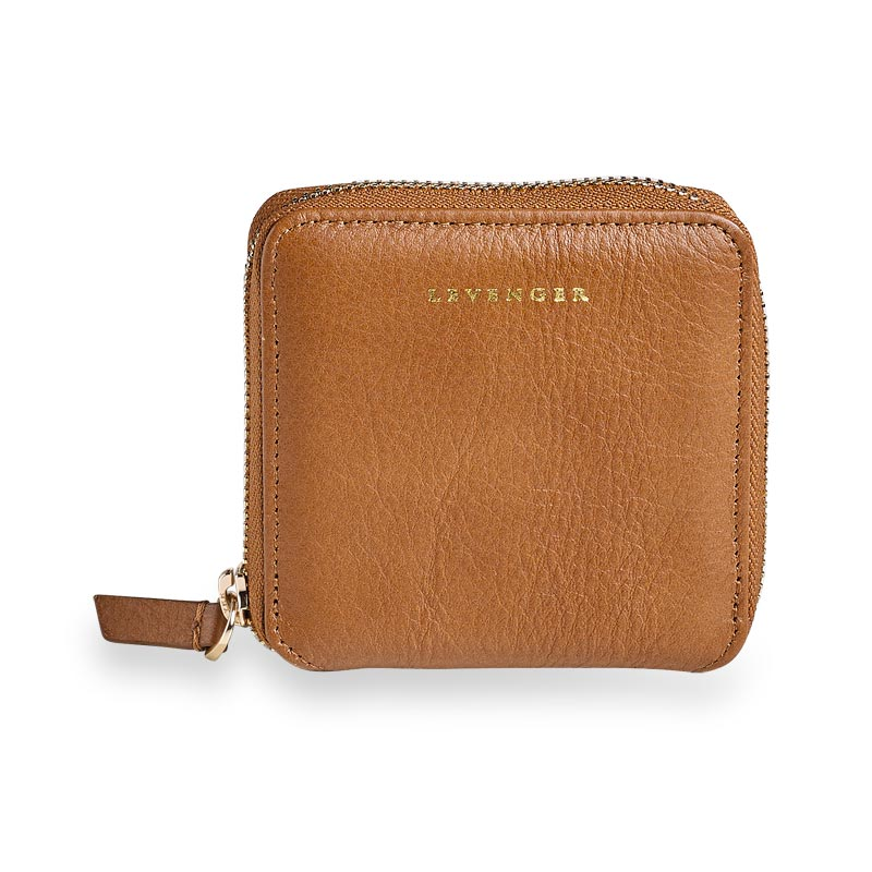 Carrie Coin and Card Wallet, Italian Caramel