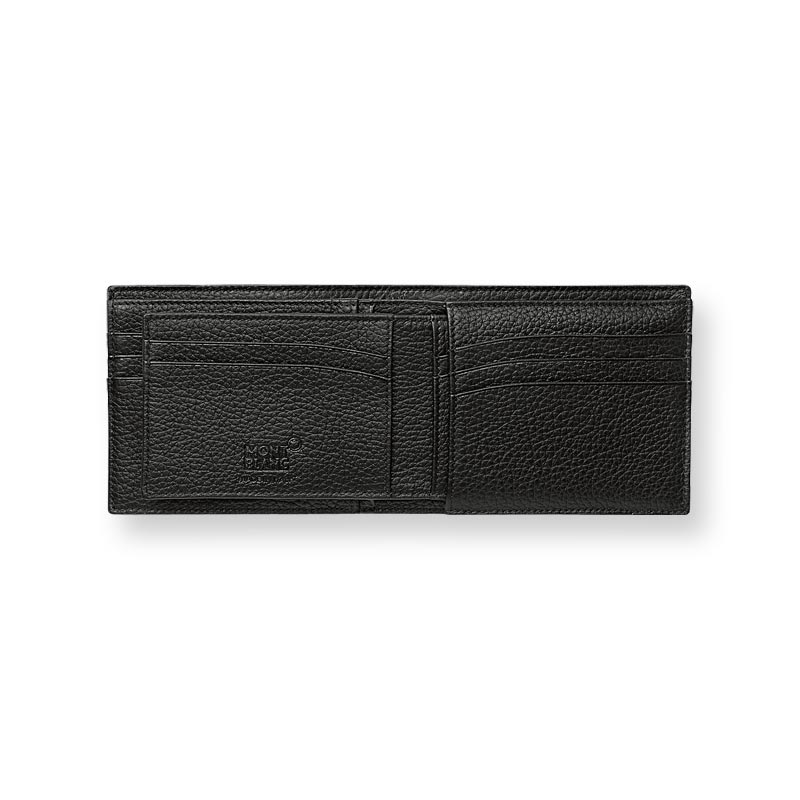 Montblanc Meisterstuck Soft Grain Wallet 6cc with Removable Holder