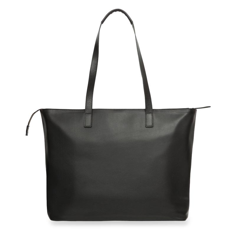 Knomo Maddox Leather Tote - Black