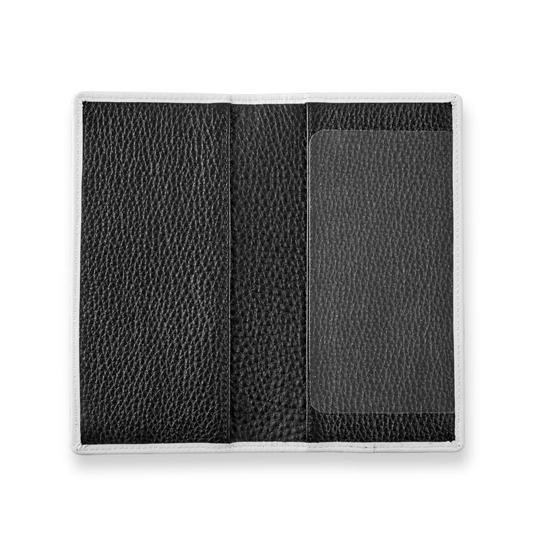 Classic Contrast Checkbook Cover