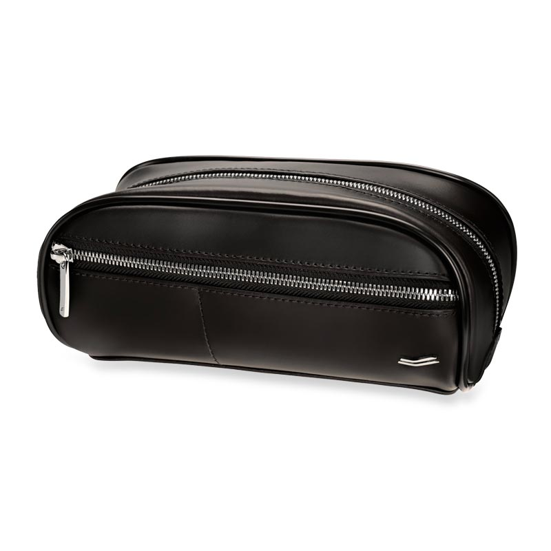 Vocier F12 Leather 3-1-1 Window Dopp Kit