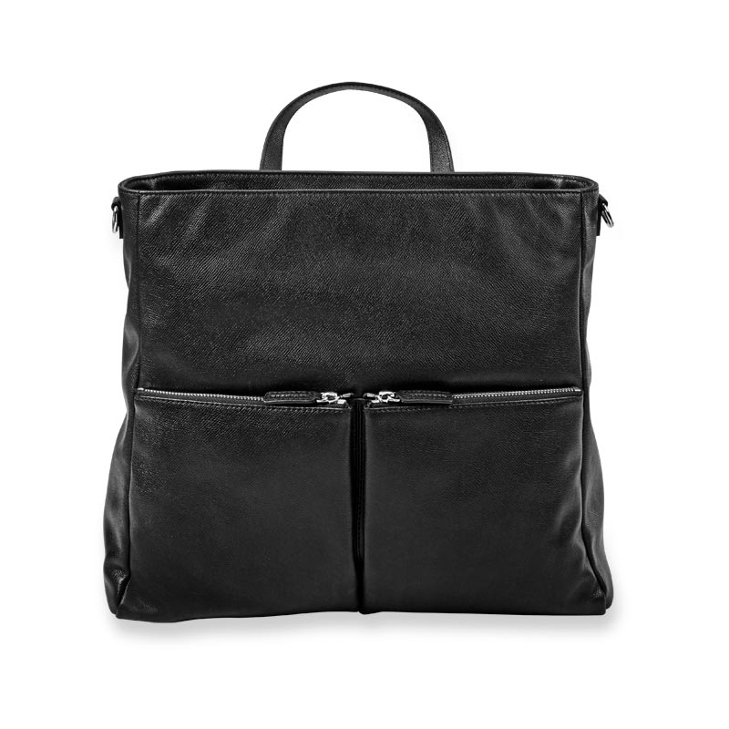 Charlotte Convertible Backpack - Black