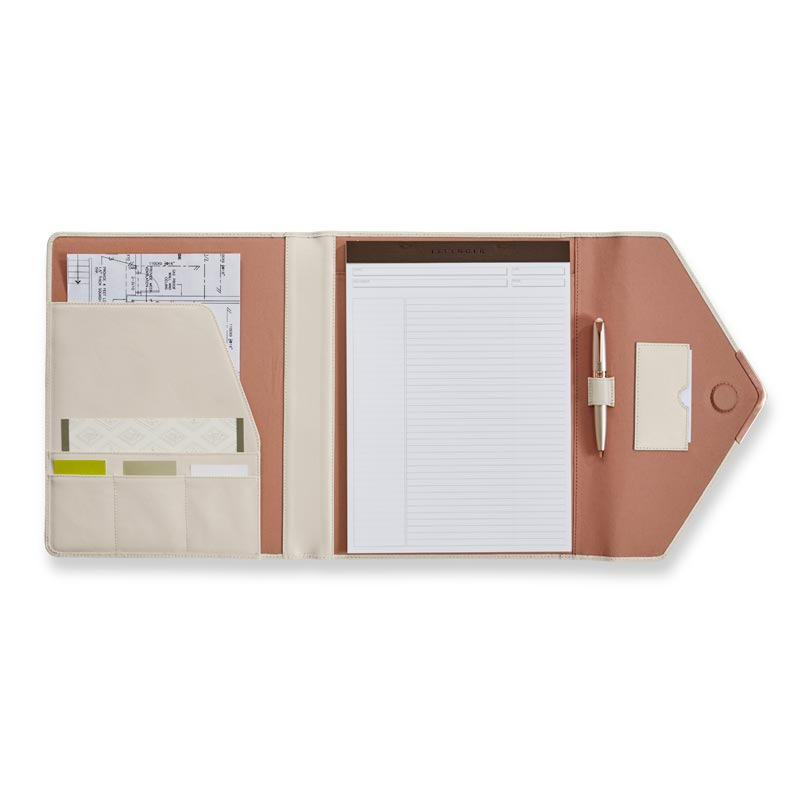 Pearl White Tri-Folio - Interior