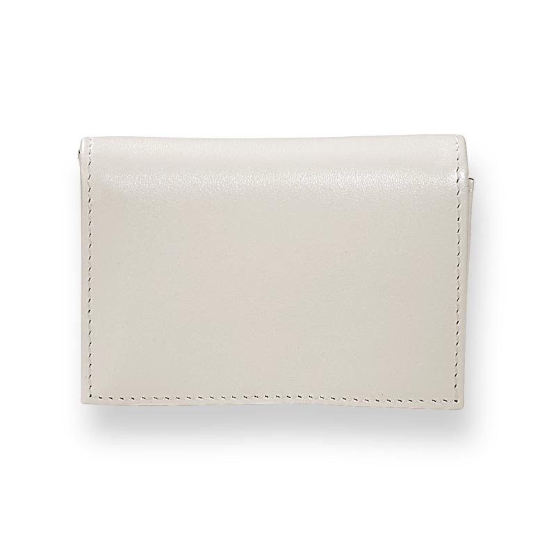 Pearl White Card Wallet