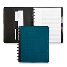 Circa® Basketweave Foldover Notebook