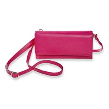 Bright Ideas Crossbody Wallet, Fiesta Pink