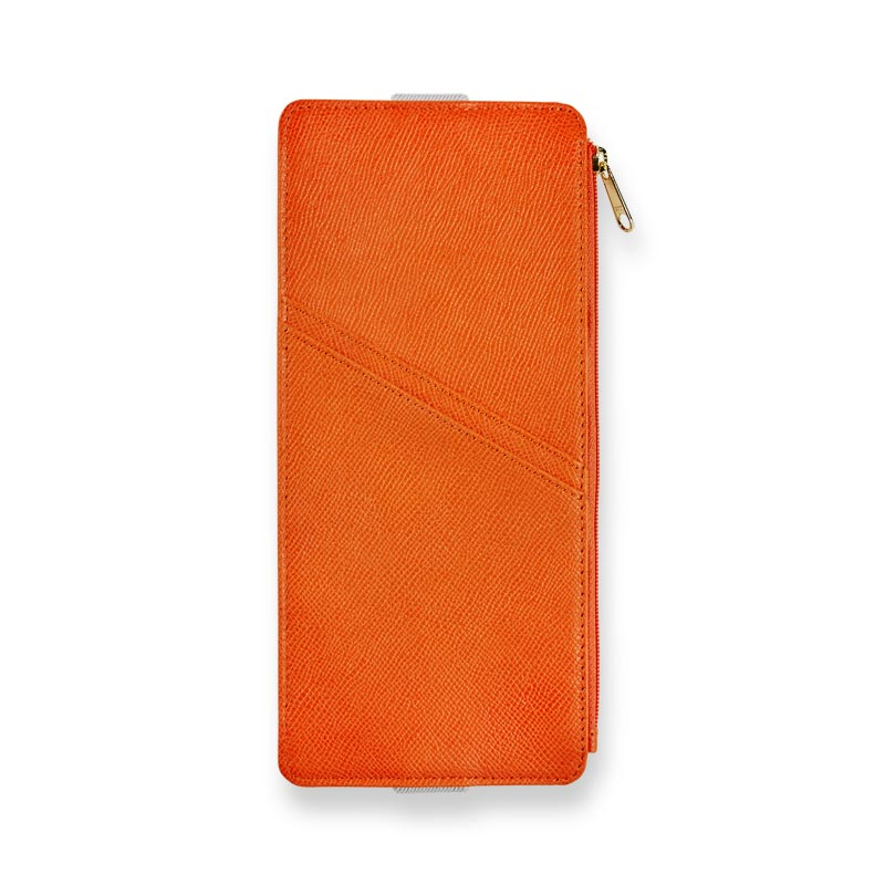 Bright Ideas Leather Zip Pocket Notebook Belt