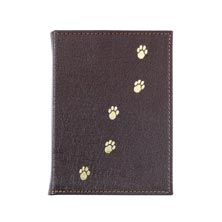 Brown Leather Pet Brag Book