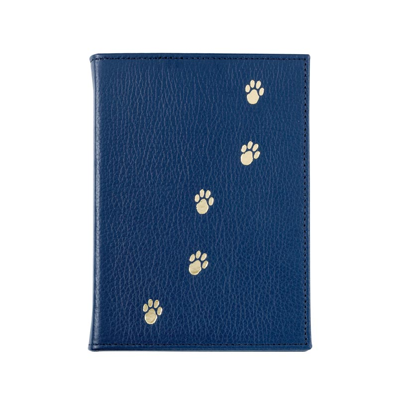 Blue Leather Pet Brag Book